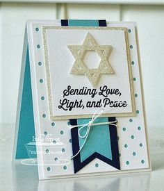 Trendy Tuesday – Hanukkah :: Paper Crafter's Library