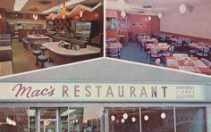 Mac's Restaurant - Rochester, Minnesota Postcard