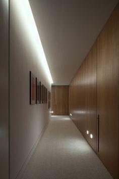 Iluminação corredor: