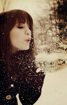 ❤ Freshly fallen snow