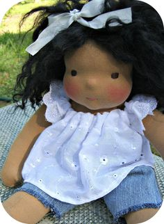 PDF Tutorial for Handmade Wefted doll wigs by LaliDolls on Etsy, $13.99