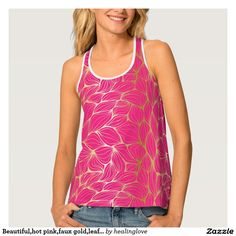 Printed Racerback Top - Rind Beauty - Diamonds by VIDA VIDA Discount Official Clearance Amazing Price Sale New Quality Free Shipping For Sale LjCa5