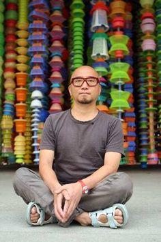 All Eyes On Korea' Korean Artist Choi Jeong Hwa's artwork