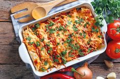 Horúce kuracie enchiladas | Recepty | zena.sme.sk