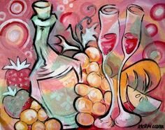 Wine and Design is one of the most popular paint and sip franchises. Wine Bucket, Wood Crosses, Wine Design, Wine Art, Paint And Sip, Aurora Sleeping Beauty, Drawings, Artwork, Painting