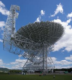 Robert C. Byrd Green Bank Telescope (GBT) is the world's largest fully steerable radio telescope and the world's largest land-based movable structure. It is part of the National Radio Astronomy Observatory (NRAO) site at Green Bank, West Virginia, USA. The telescope honors the name of the late Senator Robert C. Byrd.
