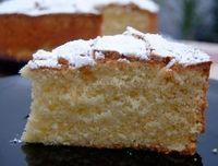 Torta Paradiso. Un bizcocho Italiano que se deshace en la boca.