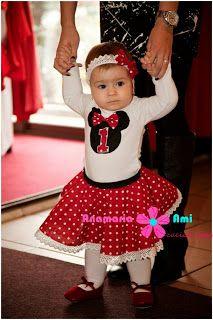 Costumas Minnie rosu Aniversar By Anamaria Ami