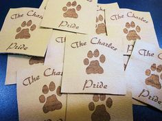 Custom Knitting Labels Jean labels Personalized Labels