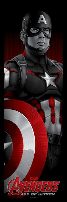 Avengers: Captain America || Steve Rogers || by Tracie Ching || 341px x 1024px || #fanart