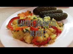 Cartofi taranesti, de post. - YouTube Potatoes, Cooking, Youtube, Baking Center, Kochen, Potato, Cuisine, Brewing, Youtubers