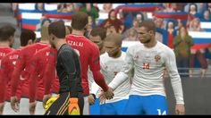 Hungary vs Russia | International Friendly Match HD PC Gameplay PES 2017...