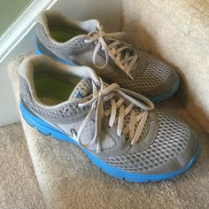 Nike Fitsol sneakers size 9 Very comfortable and great for walking/running. I just don't wear them enough to keep them. Have been worn several times but no damage and there is plenty of wear left. Nike Shoes Sneakers