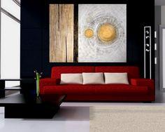 """""""2 Sois"""" (2 Sonnen - 2 Sun´s) Painel 200 x 150 cm tecnica mista - 2012"""