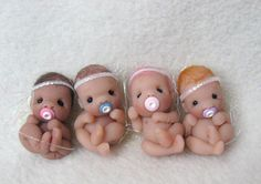 https://flic.kr/p/8M7w6H | New Fairy Babies! | Hand sculpted by me:)