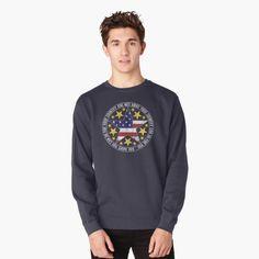 Pullover, Crew Neck Sweatshirt, Graphic Sweatshirt, Circle Pattern, Hoodies, Sweatshirts, Clothing Items, Chiffon Tops, Pattern Design