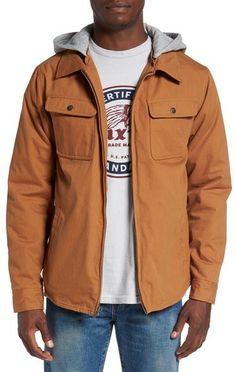 Brixton 'Canton' Jacket with Detachable Hood