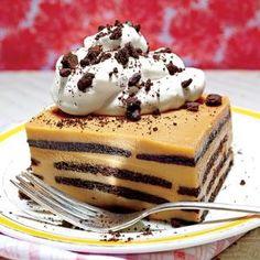 Chocolate-Bourbon-Butterscotch Icebox Cake Recipe | MyRecipes.com Mobile