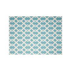 Waverly Sun N' Shade Ellis Geometric Indoor Outdoor Rug, Blue