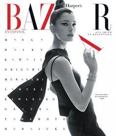 Harper's Bazaar Mexico & Latam March 2015 | Ava Smith by Xevi Muntane [Cover]