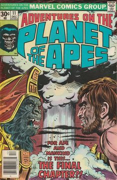 Adventures on the Planet of the Apes Vol. 1 No. 11 by TheSamAntics