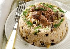 Amateur Cook Professional Eater - Greek recipes cooked again and again: Christmas rice pilaf with chestnuts and chicken livers Greek Desserts, Greek Recipes, Desert Recipes, Xmas Food, Christmas Cooking, Rice Dishes, Tasty Dishes, Greek Cooking, Food Decoration