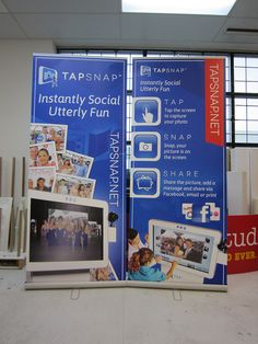 Tap Snap Banner Stand Produced and assembled by FASTSIGNS Vancouver www.fastsigns.com/653 #fastsigns #banner Fast Signs, Create A Company, Banner Stands, Your Photos, Vancouver, Storage, Design, Picture Banner, Purse Storage