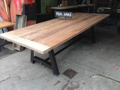 NEW Tasmanian Oak Dining Table