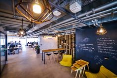 Facebook office custom lighting by Studio Beam, Tel Aviv – Israel » Retail Design Blog
