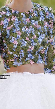 Giambasttista Valli Fall-17 Haute Couture Details
