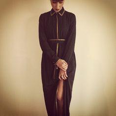 """L'indiscreto fascino del peccato..""   #officina34 #retroscena #retróscena #inspiration #almodovar #fascino #peccato #styling #style #fashion #fashiondiares #jovonnalondon #love #loveit #lookoftheday #picoftheday #trends #gold #black #instacool #instafashion #sexy #socool #loveit #foligno #lovemywork"