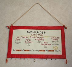 Weasly Family Tree