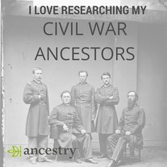 Do you love researching your #CivilWar ancestors? We do too!  #ancestry #genealogy #familyhistory #familytree #family #ancestors #ancestry #civil war #military #genealogist #veterans #heritage #roots