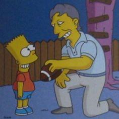 Joe Namath - The Simpsons