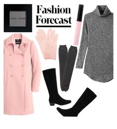 """Winter Ready"" by infinityfashion2 ❤ liked on Polyvore featuring J.Crew, Gabor, Express, Bobbi Brown Cosmetics and winteressentials"