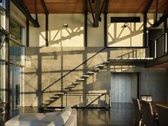 10 Stylish (& Slightly Scary) Floating Staircases   Apartment Therapy