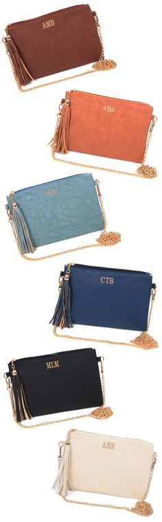 The ever-so-trendy Monogrammed Downtown Tassel Purse! Visit Marleylilly.com to check out all of our color options!