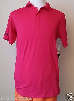 men casual shirts for sale : HEAD men size M #POLO shirt short sleev bright red color withing our EBAY store at  http://stores.ebay.com/esquirestore