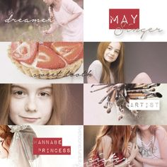 May Singer: boy crazy, artist, and dreamer<3