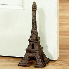 Decorative Door Stoppers | Eiffel tower door stop or bookend