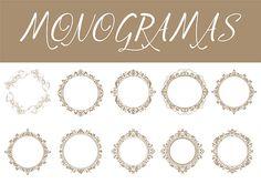 Monogramas Convites Casamento