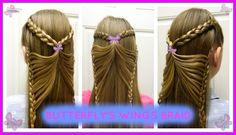 Butterfly's Wings Braid / Trenza Alas de Mariposa / Bonita Hair Do