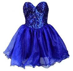 Faironly Navy Blue Mini Short Formal Party Prom Gown Cocktail Homecoming Dress:Price: $89.00