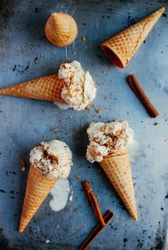 apple crisp ice cream // brooklyn supper--Loving the sound of this!