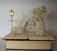 Mary Poppins Book Sculpture Book Art Altered by MalenaValcarcel