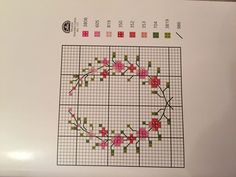 This Pin was discovered by Kan Cross Stitch Hoop, Cross Stitch Numbers, Butterfly Cross Stitch, Cross Stitch Tree, Cross Stitch Bookmarks, Cross Stitch Cards, Simple Cross Stitch, Cross Stitch Borders, Cross Stitch Flowers