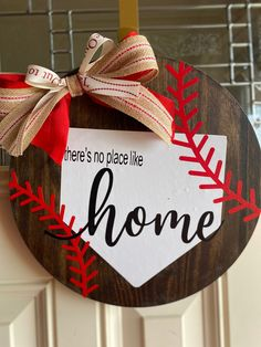 Crafts To Do, Wood Crafts, Diy Crafts, Chalk Crafts, Baseball Crafts, Baseball Mom, Baseball Stuff, Front Door Decor, Front Door Signs