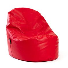 Puf Lounge Polipiel Rojo