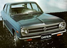 Datsun 1200 Coupe 1971 Nissan Infiniti, Car Images, Japanese Cars, Driving Test, Motor Car, Jeep, Classic Cars, Vehicles, Automobile