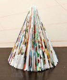 DIY Magazine Christmas Tree
